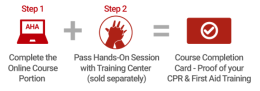 CPR course steps