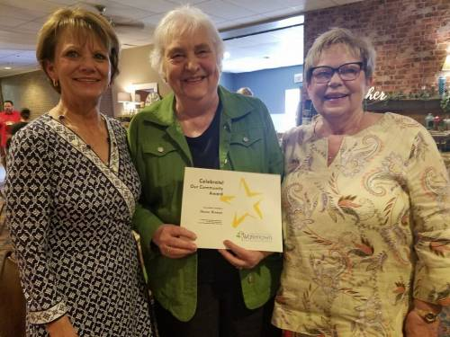 PLHS Volunteer Receives Award