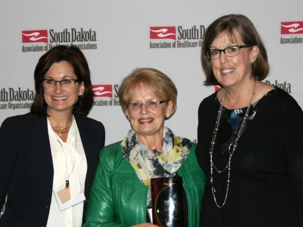 Delrita Hopper, RN, Honored with Health Care Hero Award