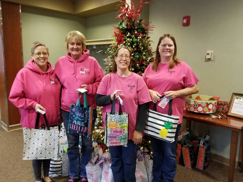 Donations Warm Hearts of Cancer Patients