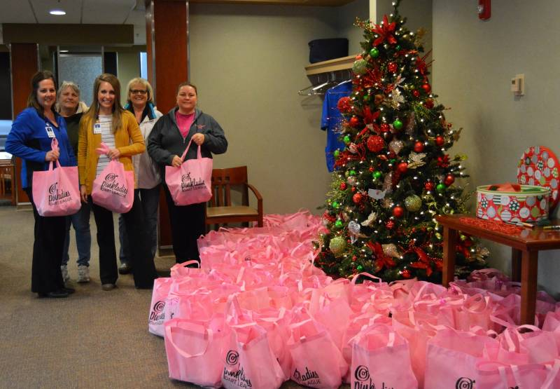 Donation to Cancer Center Patients