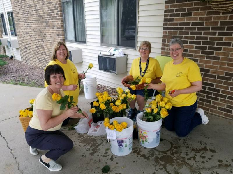 Yellow Rose Week Raises $28,631