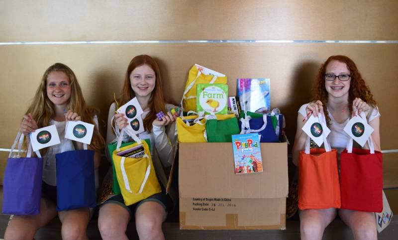 Girl Scouts' Projects Help Patients