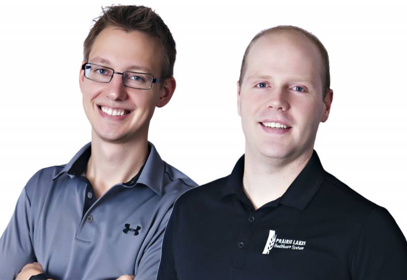 Eric Fjeldheim, DPT and Tyler Turbak, DPT